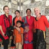 Kleuren in het levendige India